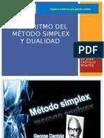 Algoritmo Del Método Simplex y Dualidad 2016 0
