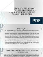 PDF Analises Schubert e Beatles