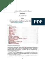 A Primer of Commutative Algebra