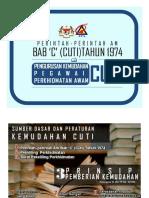 BAB C.CUTI