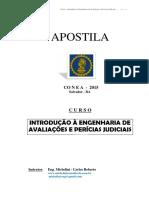 Apostila Curso Aval e Per Eng Conea 2015 Bahia