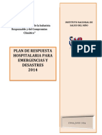 Plan de Respuesta Hospitalaria-ugrd-2014