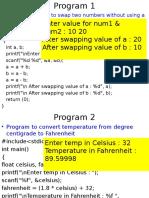 General C Programs