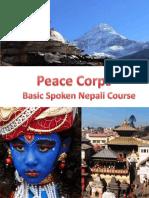 Basic Course in Spoken Nepali