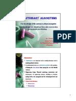 Evolutionary Algorithms GA and De