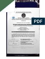 Mahkamah Agung 24 6 2016 SURAT KETETAPAN BERSAMA Original Signed Letter