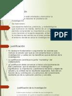 Justificación y Delimitación2016