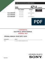 Sony KLV-40BX300 chasis AZ1-A.pdf