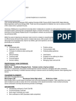 resume year 12