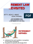 Retirement Law Revisited 091910 Ppt97