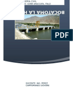 Informe Mecanica de Fluidos Bocatoma La Huaca (1)