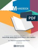 WESM Participant Handbook Vol1 Ver2