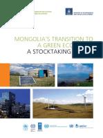 Mongolia Green Economy Eg Full Nov16 Web