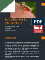 MALARIA en El Embarazo