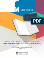 WESM Participant Handbook Vol3