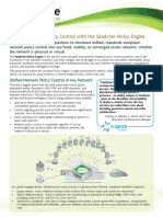 Unified Network Policy Control With the Sandvine Policy Engine