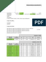 314405447 Predimensionamiento de Elementos Estructurales Para Analisis Xlsx