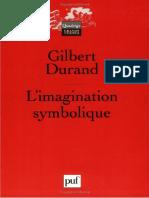Gilbert Durand  Aventurile Imaginii