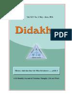 Didakhe - May_June, 2016