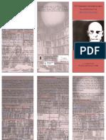 Tríptico programa Foucault