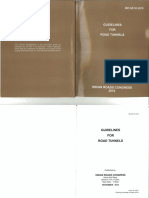 IRC SP 91-2010 Guidelines for Road Tunnels