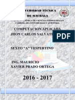 PORTAFOLIO COMPUTACION APLICADA