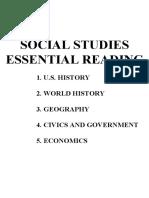 GED 2002 Social Studies Essential Reading