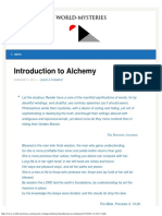 Introduction to Alchemy - WORLD MYSTERIES