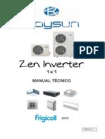 Manual Tecnico Kaysun Zen Inverter