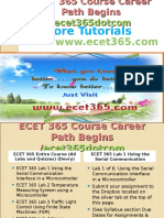 ECET 365 Course Career Path Begins Ecet365dotcom