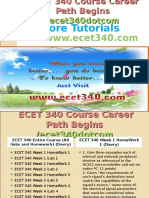 ECET 340 Course Career Path Begins Ecet340dotcom