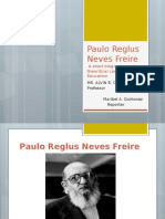 Report - Paulo Reglus Neves Freire