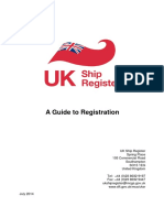 UK Ship Register Guide to Registration