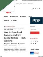Document Downloading Hacks
