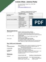 Curriculum Vitiate examplar.doc