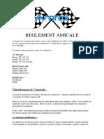 Reglement Amicale