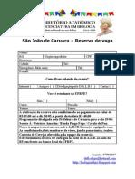 Reserva - São João de Caruaru