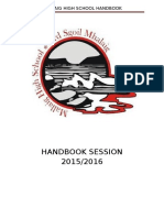 mallaig hs handbook 2015