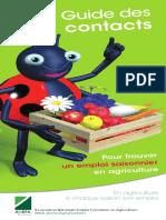 Guide Des Contacts Saisonniers en Ariculture_1