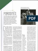 POROSITES ARTS VIE SOCIÉTÉ
