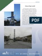 Hickory Ridge Landfill Biogas Flare