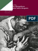 [JORGE SAGASTUME] Cervantes Novelador [Las Novelas Ejemplares Cuatrocientos Años Después]