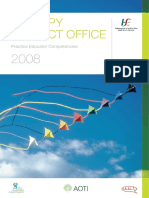 Competencias Tutor IRLANDA 2008
