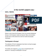 Brexit_ What the World's Papers Say