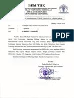 Pengumuman Akhir PK2MABA Dan Krida Mahasiswa Filkom 2015