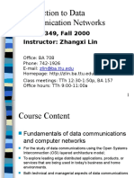Introduction to Data Communication Networks