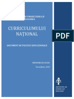 Document Politici Curriculum Final 23decembrie