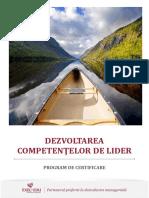 Dezvoltarea Competentelor de Lider 2016