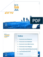 Informe Evolucion Familia Espana 2010