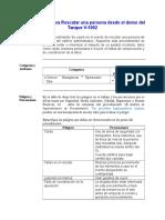 Procedimiento Rescate Sobre Domo Tk v-1005